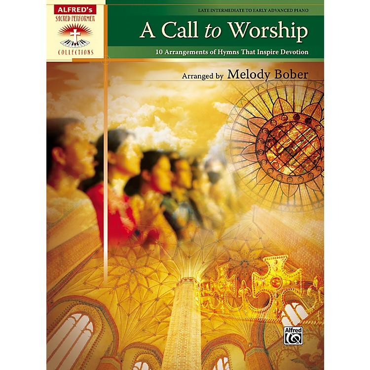 AlfredA Call to Worship Late Intermediate/Early Advanced Piano