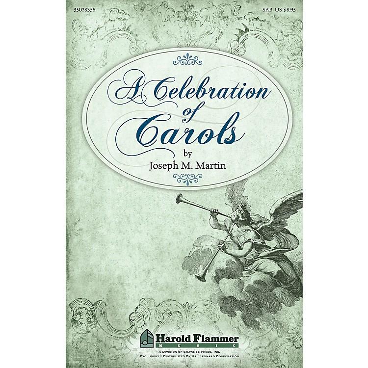 Shawnee PressA Celebration of Carols SAB composed by Joseph Martin