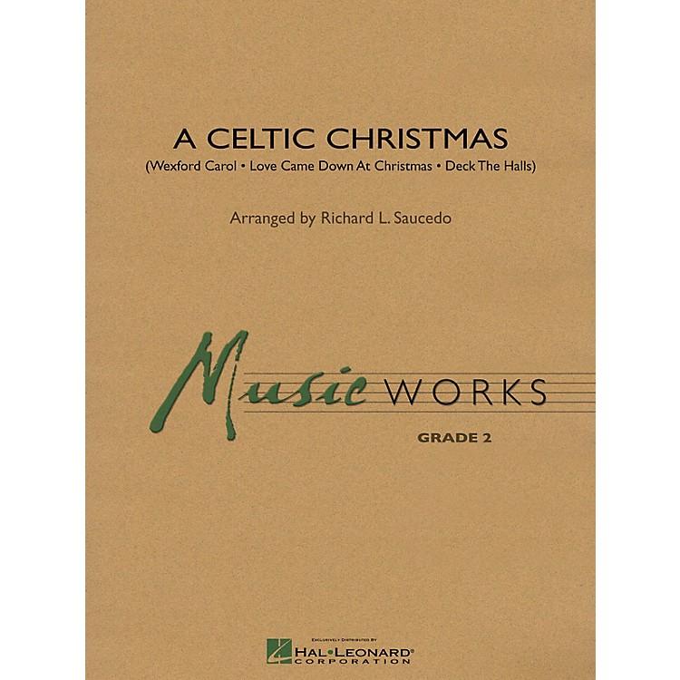 Hal LeonardA Celtic Christmas Concert Band Level 2 Arranged by Richard L. Saucedo