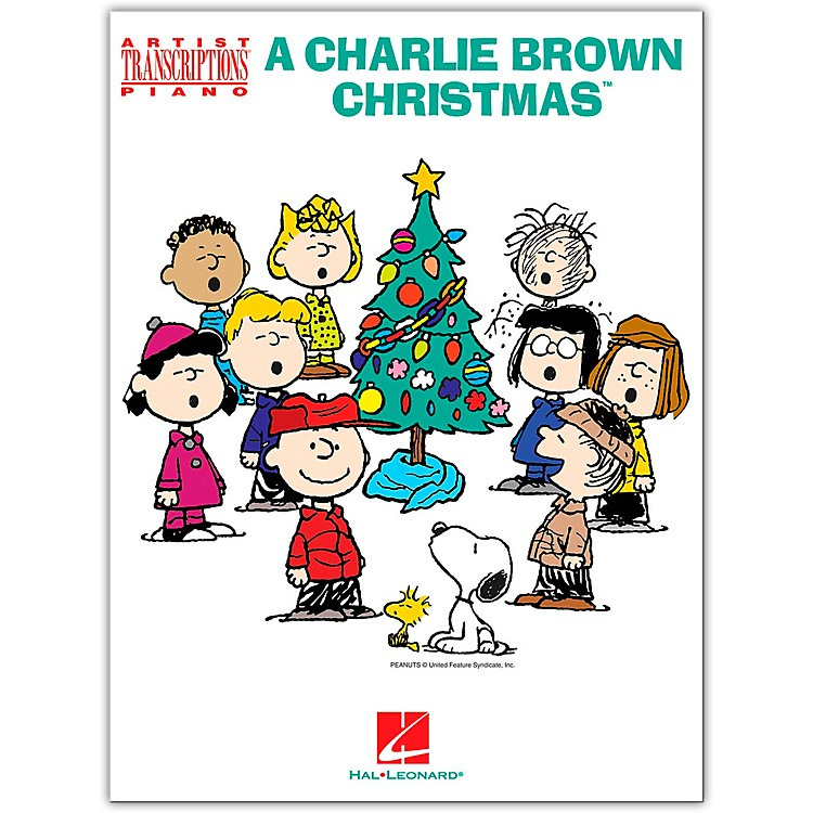 Hal Leonard A Charlie Brown Christmas (Artist Transcriptions for Piano) Songbook