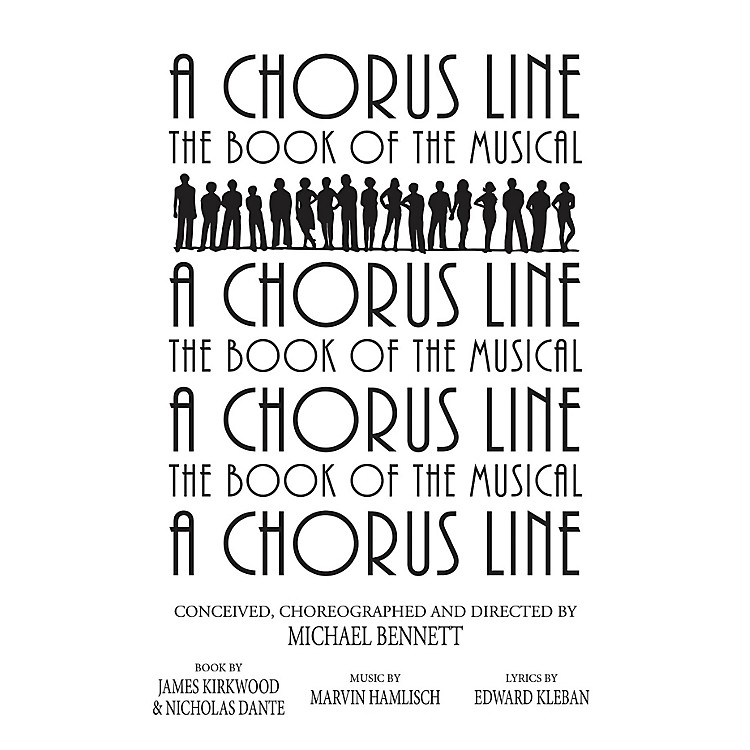 Applause Books A Chorus Line Applause Libretto Library Series Softcover Written by James Kirkwood
