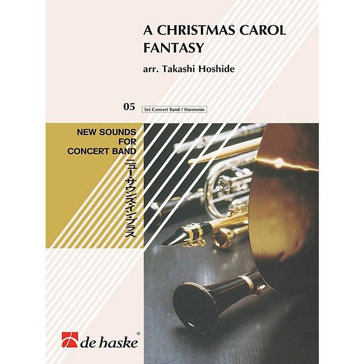 Hal LeonardA Christmas Carol Fantasy Concert Band Composed by Takashi Hoshide
