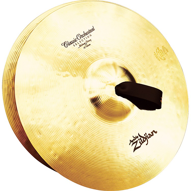 Zildjian A Classic Orchestral Medium Heavy Crash Cymbal Pair  16 in.