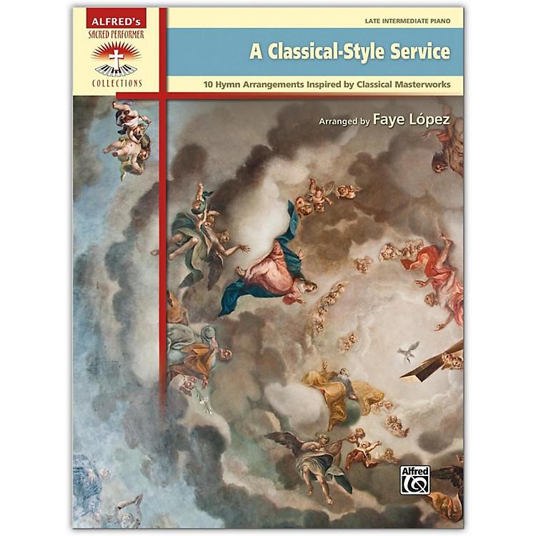 AlfredA Classical-Style Service Book Late Intermediate