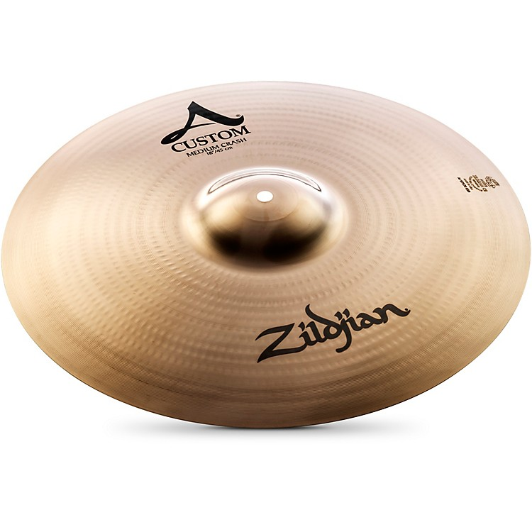 Zildjian A Custom Medium Crash  18 in.