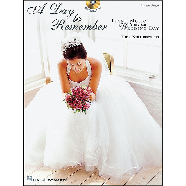 Hal LeonardA Day To Remember (Book/CD) arranged for piano solo