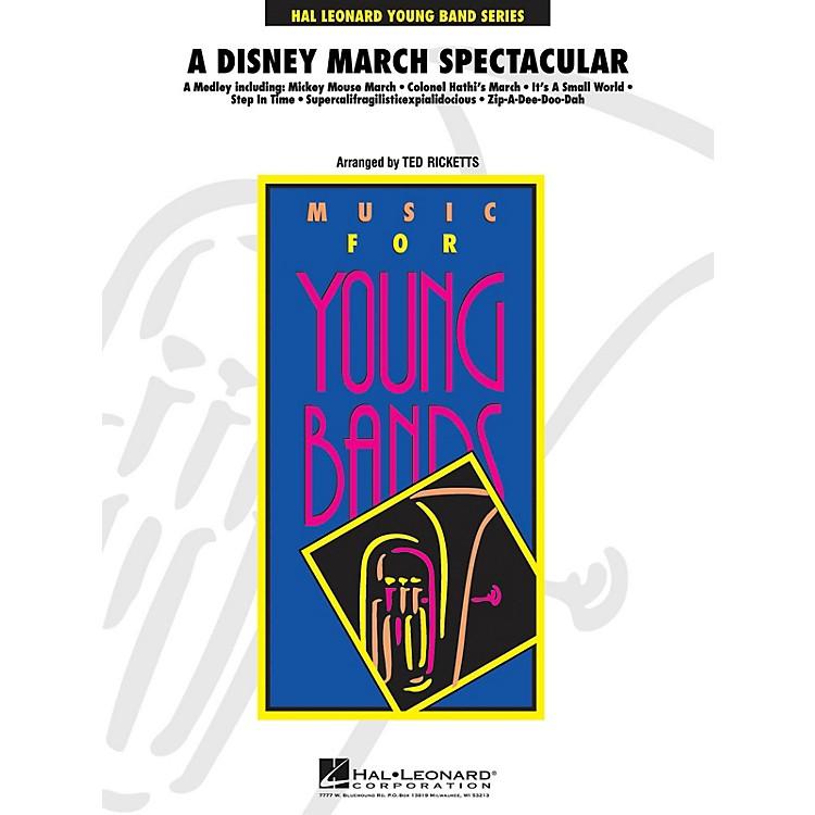 Hal LeonardA Disney March Spectacular Full Score Concert Band