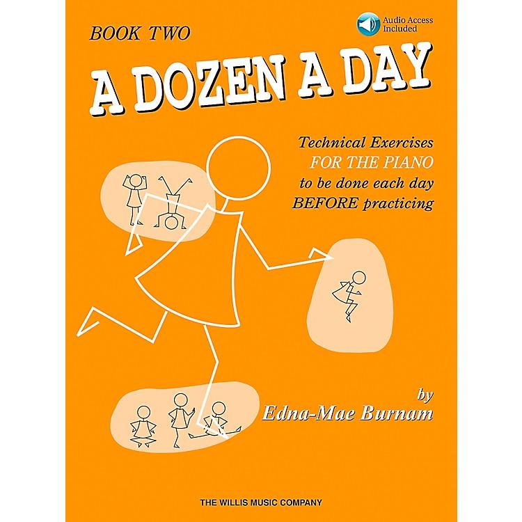 Willis MusicA Dozen A Day - Book 2 Book/CD