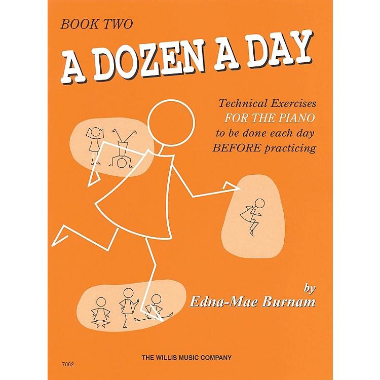 Hal LeonardA Dozen A Day Book 2 (Orange cover)