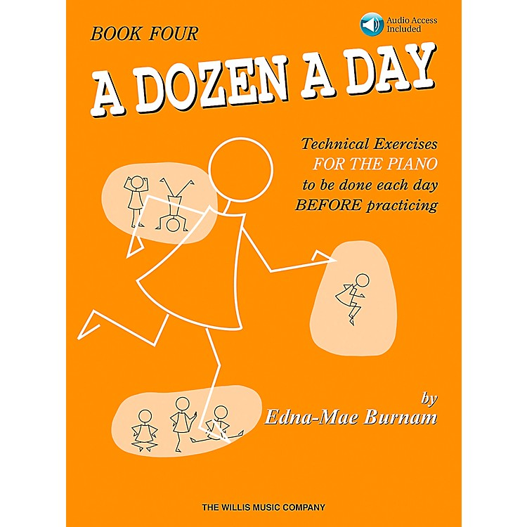 Willis Music A Dozen A Day Book 4 Book/CD