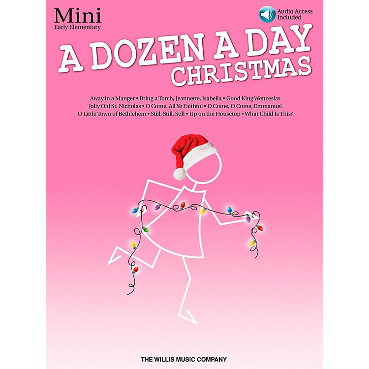 Hal Leonard A Dozen A Day Christmas Songbook - Mini (Book/Audio On-Line)