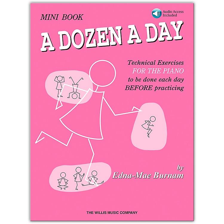 Willis MusicA Dozen A Day Mini Book (Book/Online Audio)