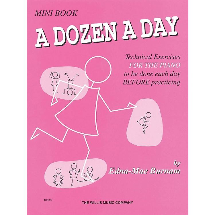 Hal LeonardA Dozen A Day Mini Book Technical Exercises For The Piano (Pink cover)