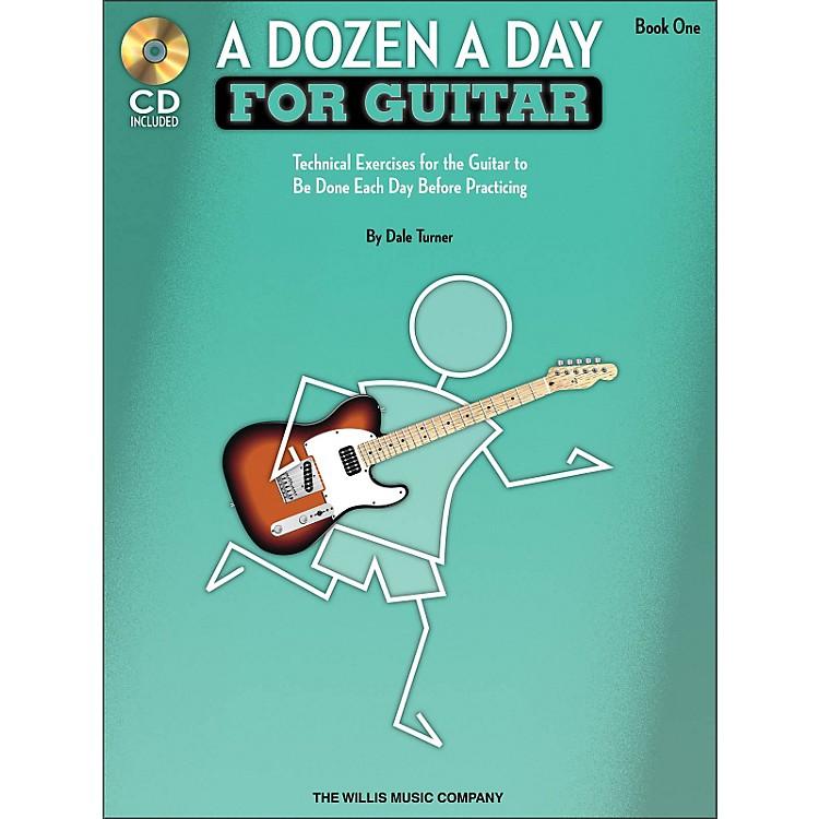 Willis MusicA Dozen A Day for Guitar - Book 1 Book/CD Pack
