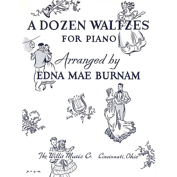 Willis MusicA Dozen Waltzes (Later Elem Level) Willis Series