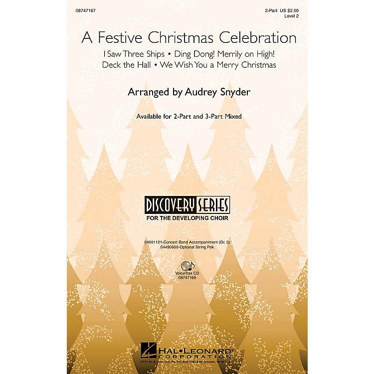 Hal LeonardA Festive Christmas Celebration VoiceTrax CD Arranged by John Moss