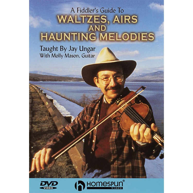 HomespunA Fiddler's Guide to Waltzes, Airs and Haunting Melodies DVD/Instructional/Folk Instrmt DVD by Jay Ungar