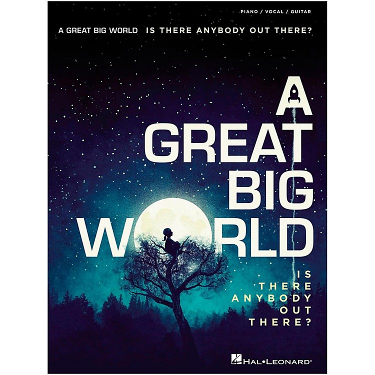 Hal LeonardA Great Big World - Is There Anybody Out There? For Piano/Vocal/Guitar