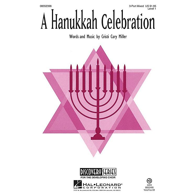 Hal LeonardA Hanukkah Celebration (Discovery Level 1) 3 Part Treble Composed by Cristi Cary Miller