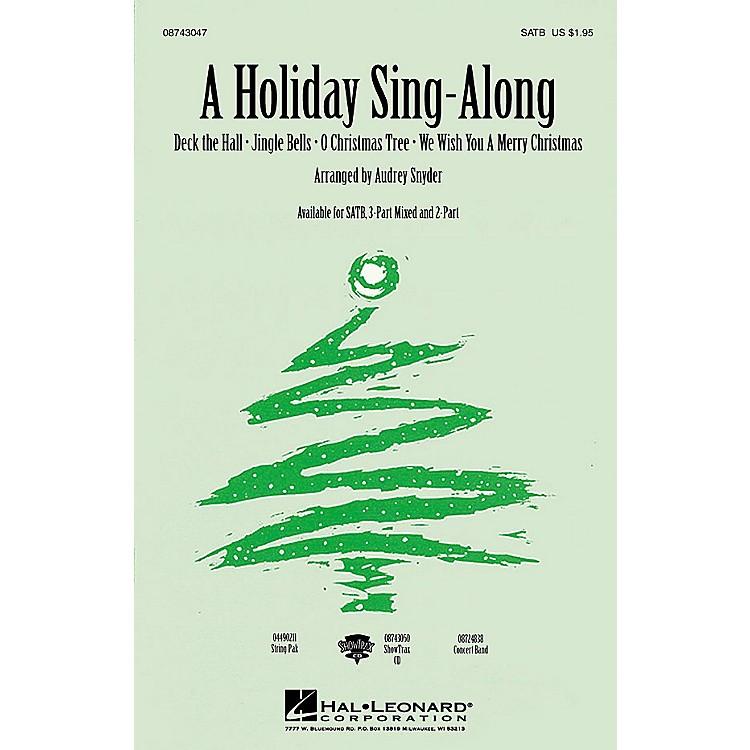 Hal LeonardA Holiday Sing-Along (Medley for Band and Choir) (ShowTrax CD) ShowTrax CD Arranged by John Moss