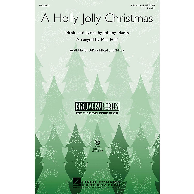 Hal LeonardA Holly Jolly Christmas (Discovery Level 2) VoiceTrax CD by Burl Ives Arranged by Mac Huff