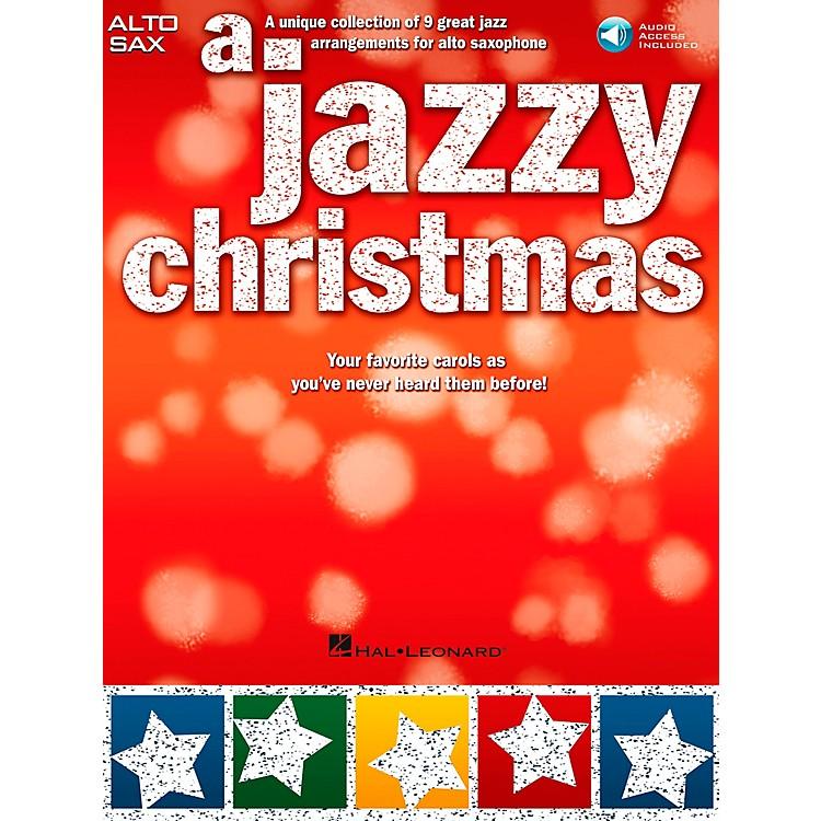 Hal LeonardA Jazzy Christmas - Alto Sax Play-Along Book/CD