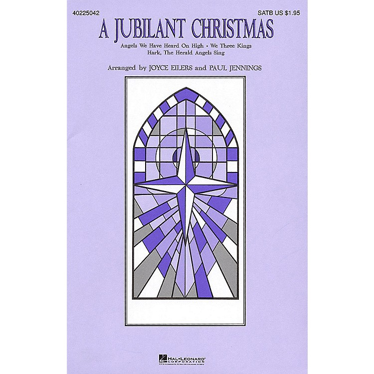 Hal Leonard A Jubilant Christmas (Medley) SATB arranged by Joyce Eilers