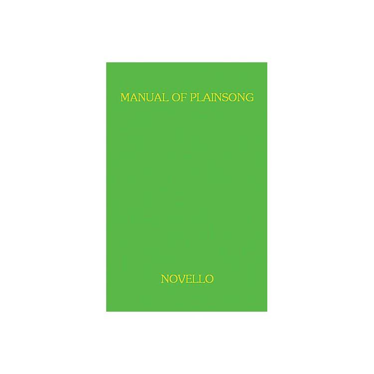 Music SalesA Manual Of Plainsong Music Sales America Series
