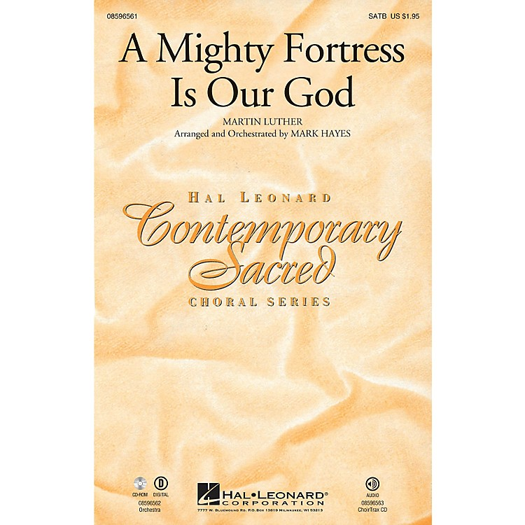 Hal LeonardA Mighty Fortress Is Our God SATB arranged by Mark Hayes