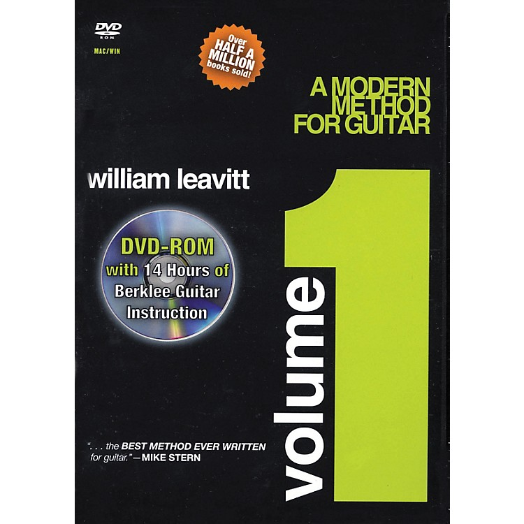 Berklee PressA Modern Method for Guitar - Volume 1 (DVD-ROM)