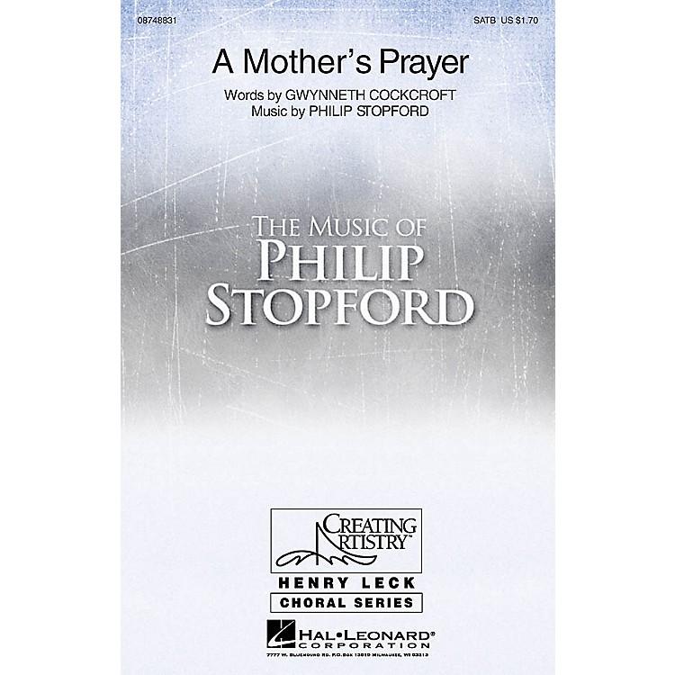 Hal LeonardA Mother's Prayer 2-Part Composed by Philip Stopford