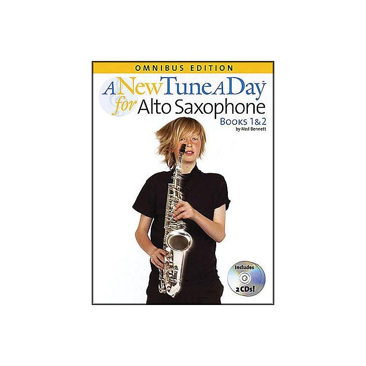 Music SalesA New Tune A Day Alto Sax Omnibus Book & 2 CD'S