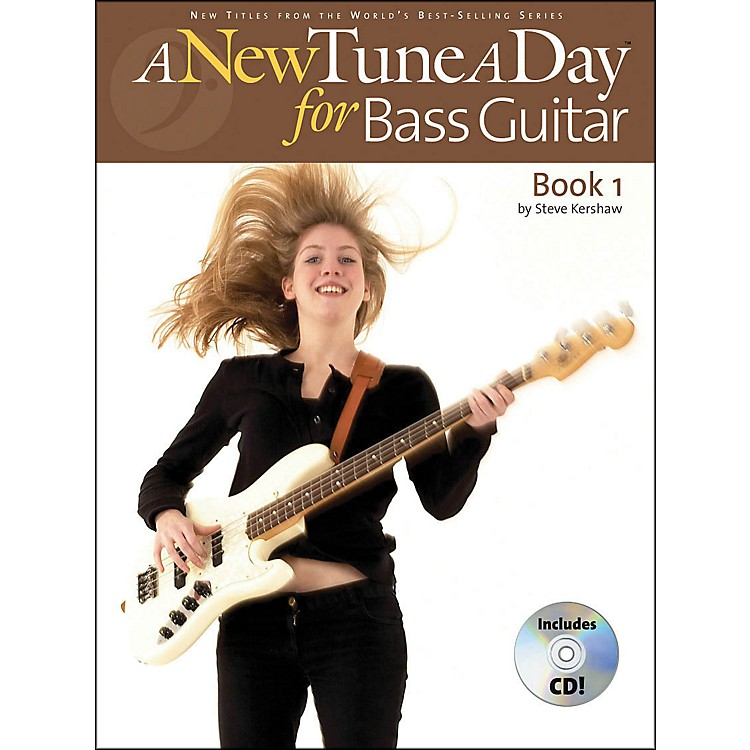 Music SalesA New Tune A Day Bass Guitar Book 1 with CD