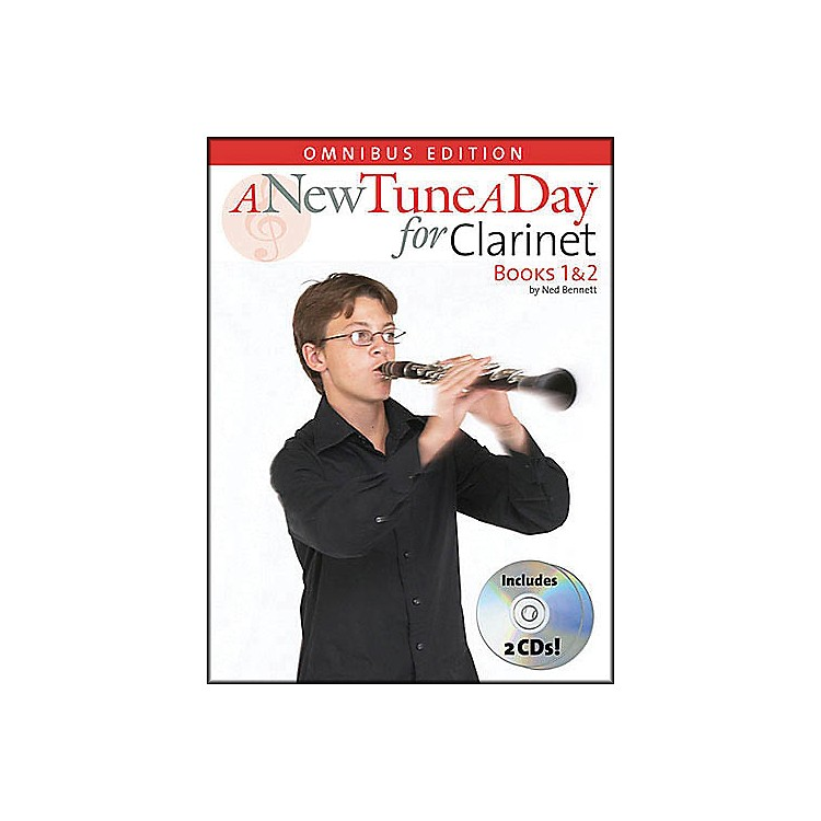 Music Sales A New Tune A Day Clarinet Omnibus Book 1&2 Book/2CD's