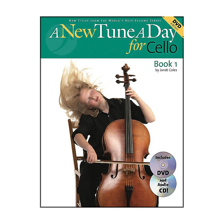 Music SalesA New Tune A Day for Cello Book 1 with DVD And Audio CD