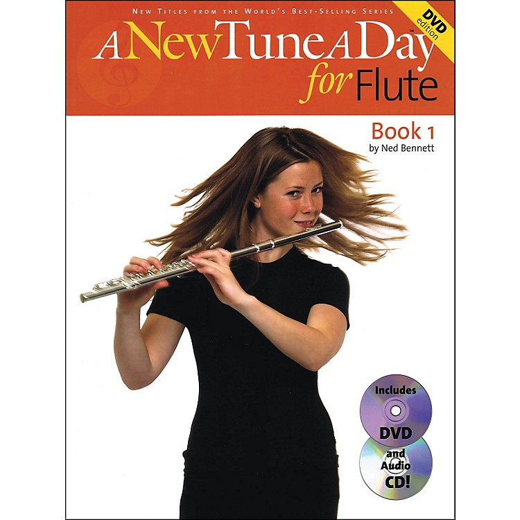 Music SalesA New Tune A Day for Flute Book 1 with Audio CD And DVD