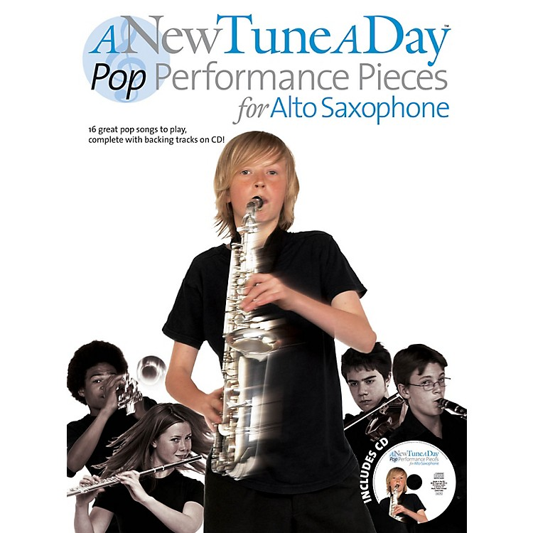Music SalesA New Tune a Day - Pop Performances for Alto Saxophone Music Sales America Series Book with CD