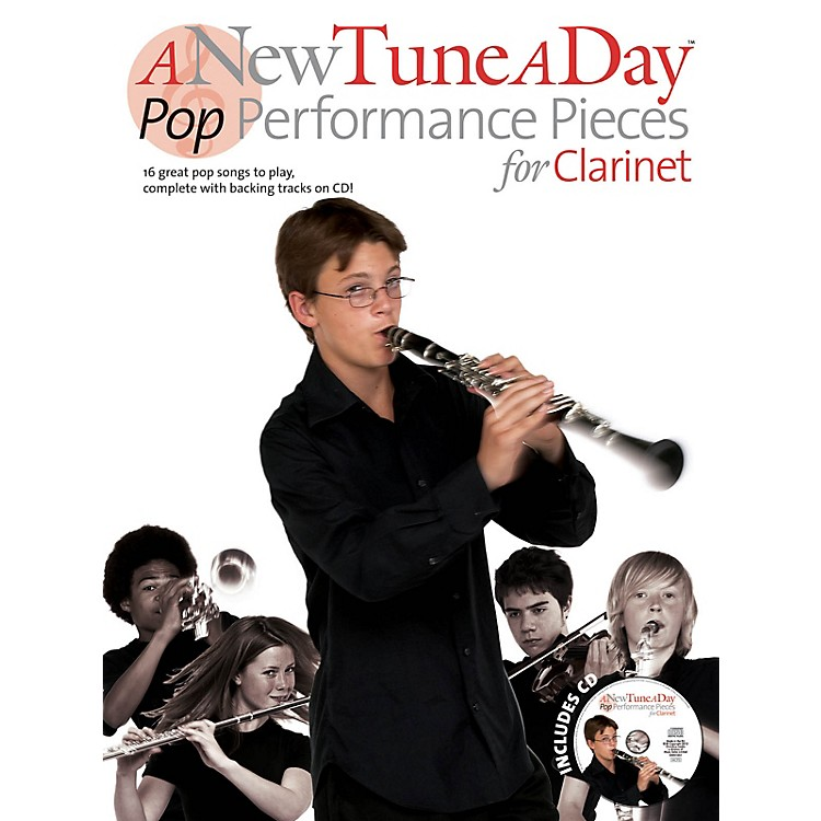 Music SalesA New Tune a Day - Pop Performances for Clarinet Music Sales America Series BK/CD