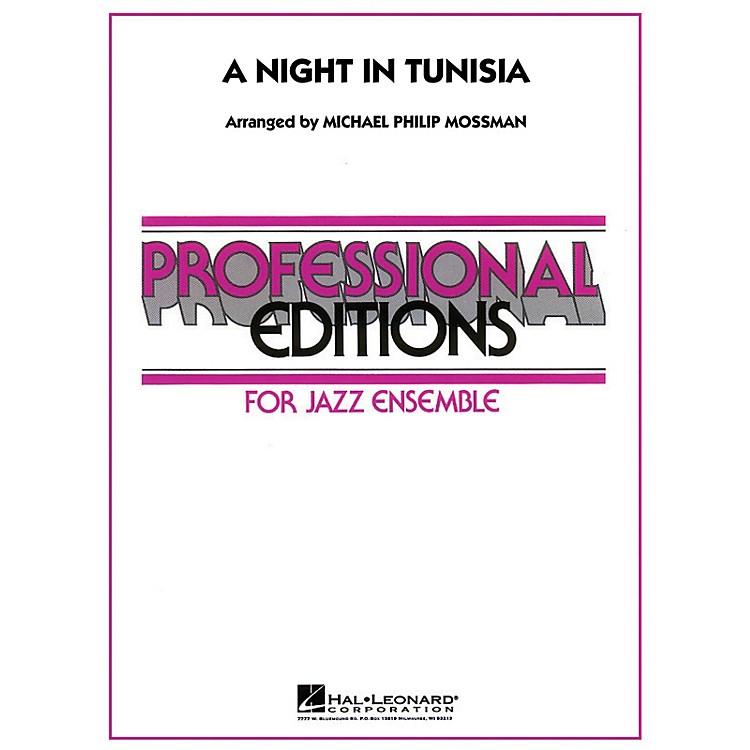Hal LeonardA Night in Tunisia Jazz Band Level 5 Arranged by Michael Philip Mossman