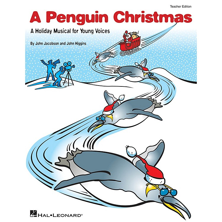 Hal LeonardA Penguin Christmas (A Holiday Musical for Young Voices) PREV CD Composed by John Higgins