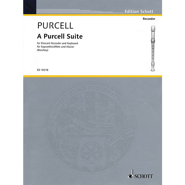 Hal LeonardA Purcell Suite: Seven (7) Pieces For Descant Recorder And Keyboard Woodwind Series