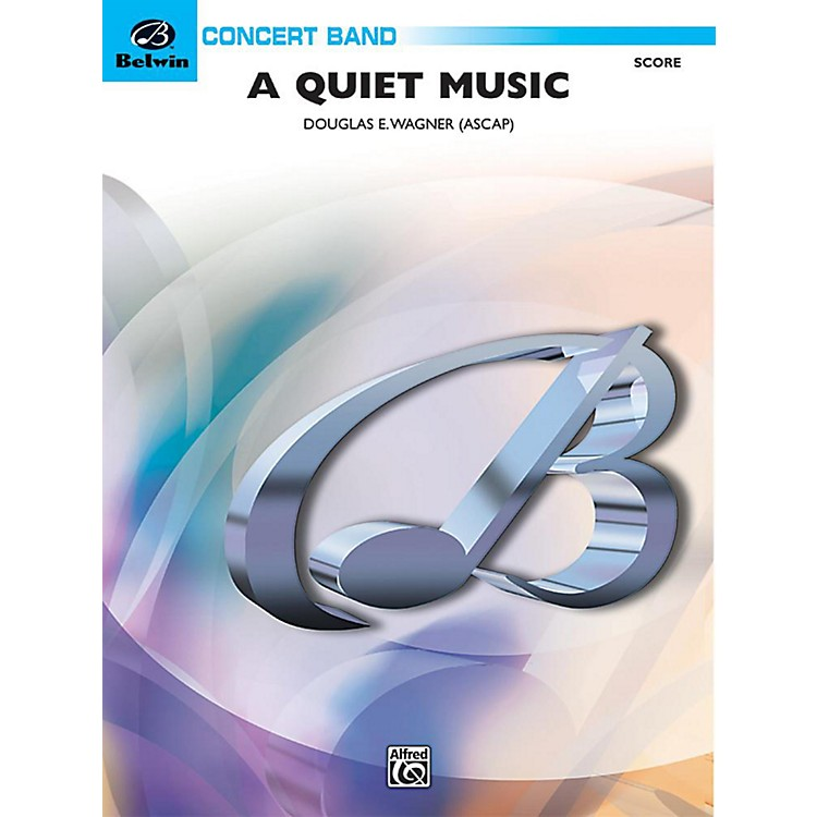 Alfred A Quiet Music Concert Band Grade 3 Set