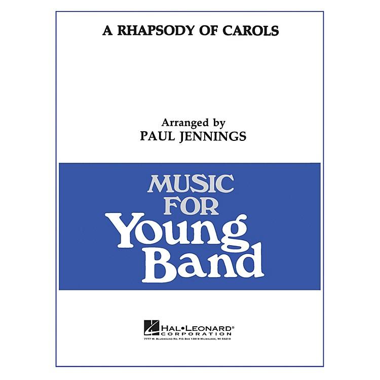 Hal LeonardA Rhapsody of Carols - Young Concert Band Level 3 by Paul Jennings