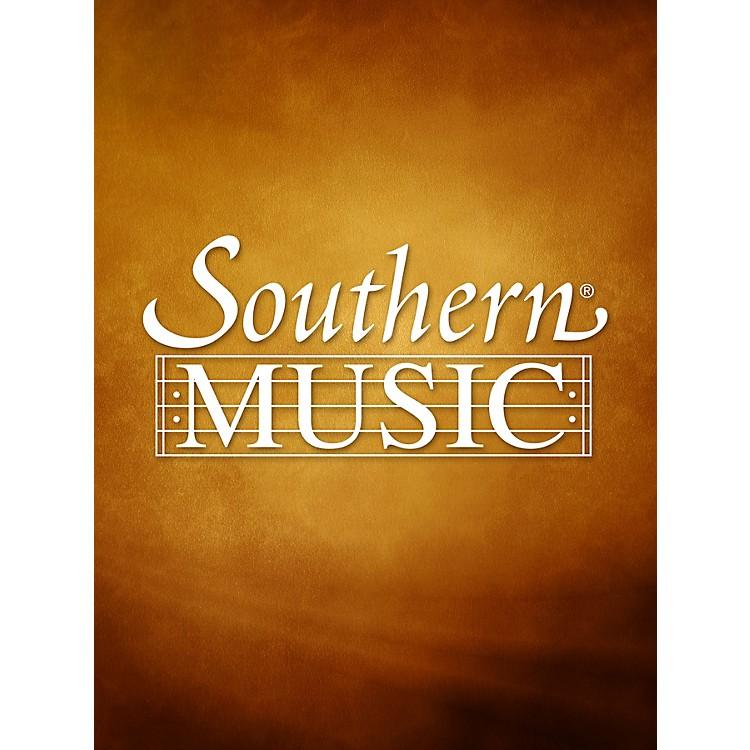 SouthernA Ruckert Song (Ich Bin Der Welt Abhanden Gekom) (Alto Sax) Southern Music Series Arranged by Fred Hemke