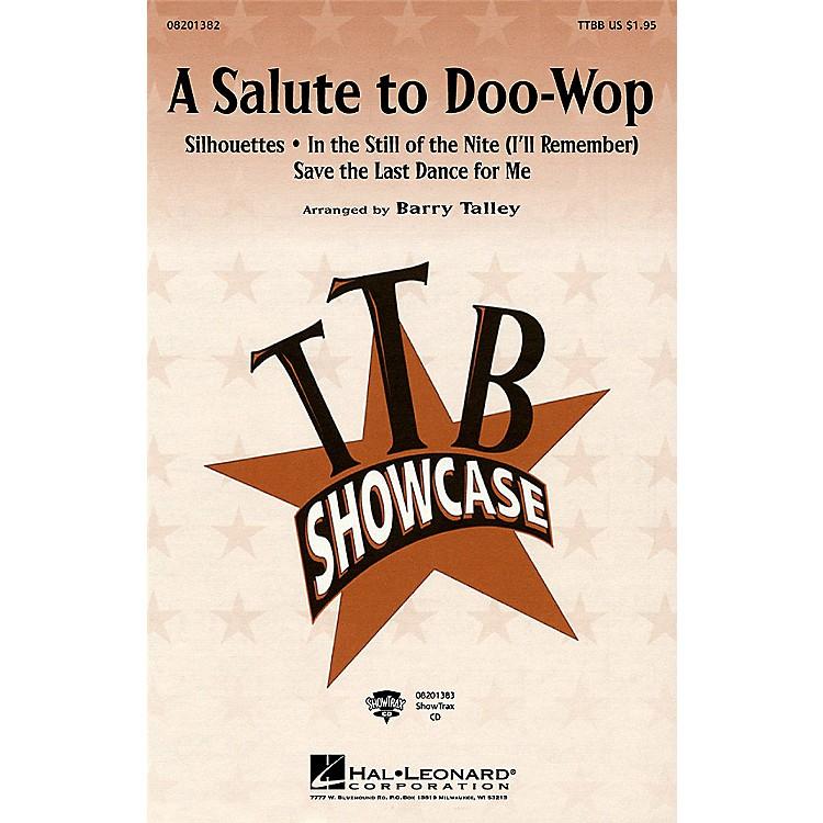 Hal LeonardA Salute to Doo-Wop (Medley) TTBB arranged by Barry Talley