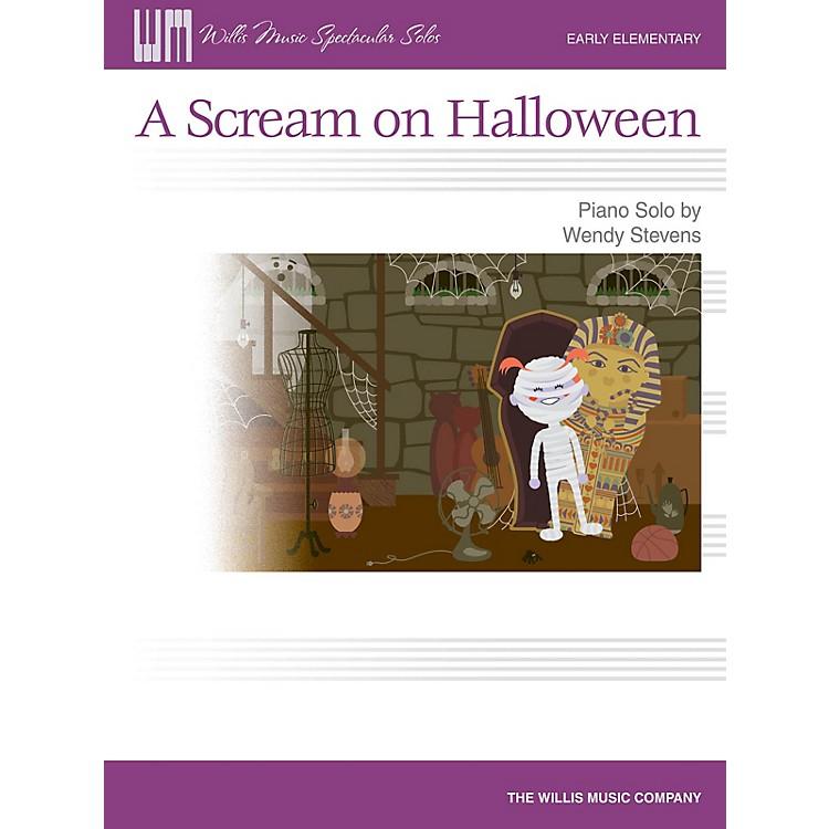 Willis MusicA Scream on Halloween (Early Elem Level) Willis Series by Wendy Stevens