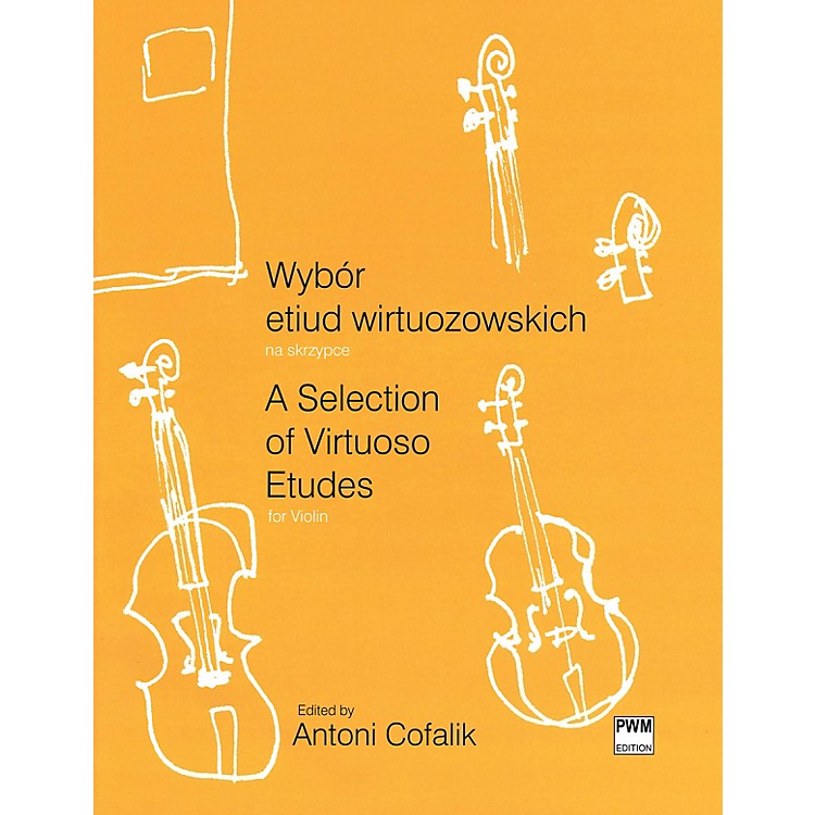 PWM A Selection of Virtuoso Etudes for Violin (Wybor etiud wirtuozowskich) PWM Series Softcover