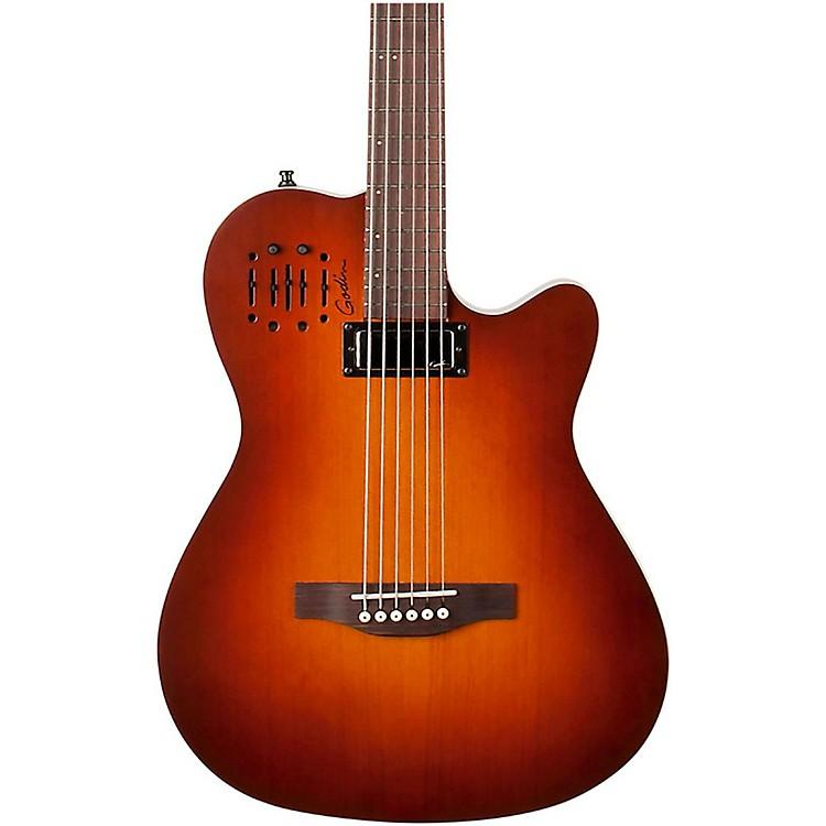 GodinA Series A6 Ultra Baritone Acoustic-Electric GuitarBurnt Umber