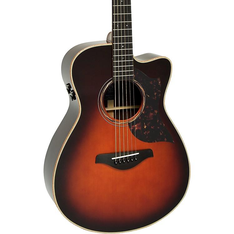 YamahaA-Series AC3R Concert Cutaway Acoustic-Electric GuitarTobacco Brown Sunburst