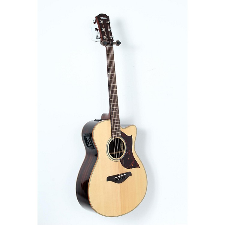 Yamaha A-Series All Solid Wood Dreadnought Acoustic-Electric Guitar with SRT Preamp/Pickup Rosewood Back and Sides 888365904023
